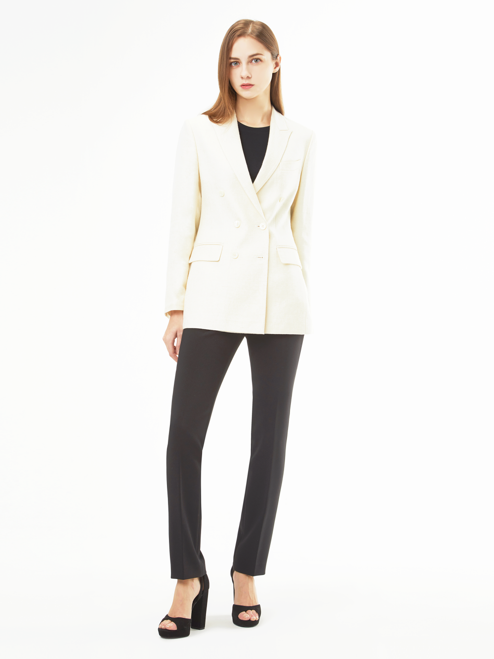 Holland&Sherry Linen Double Jacket