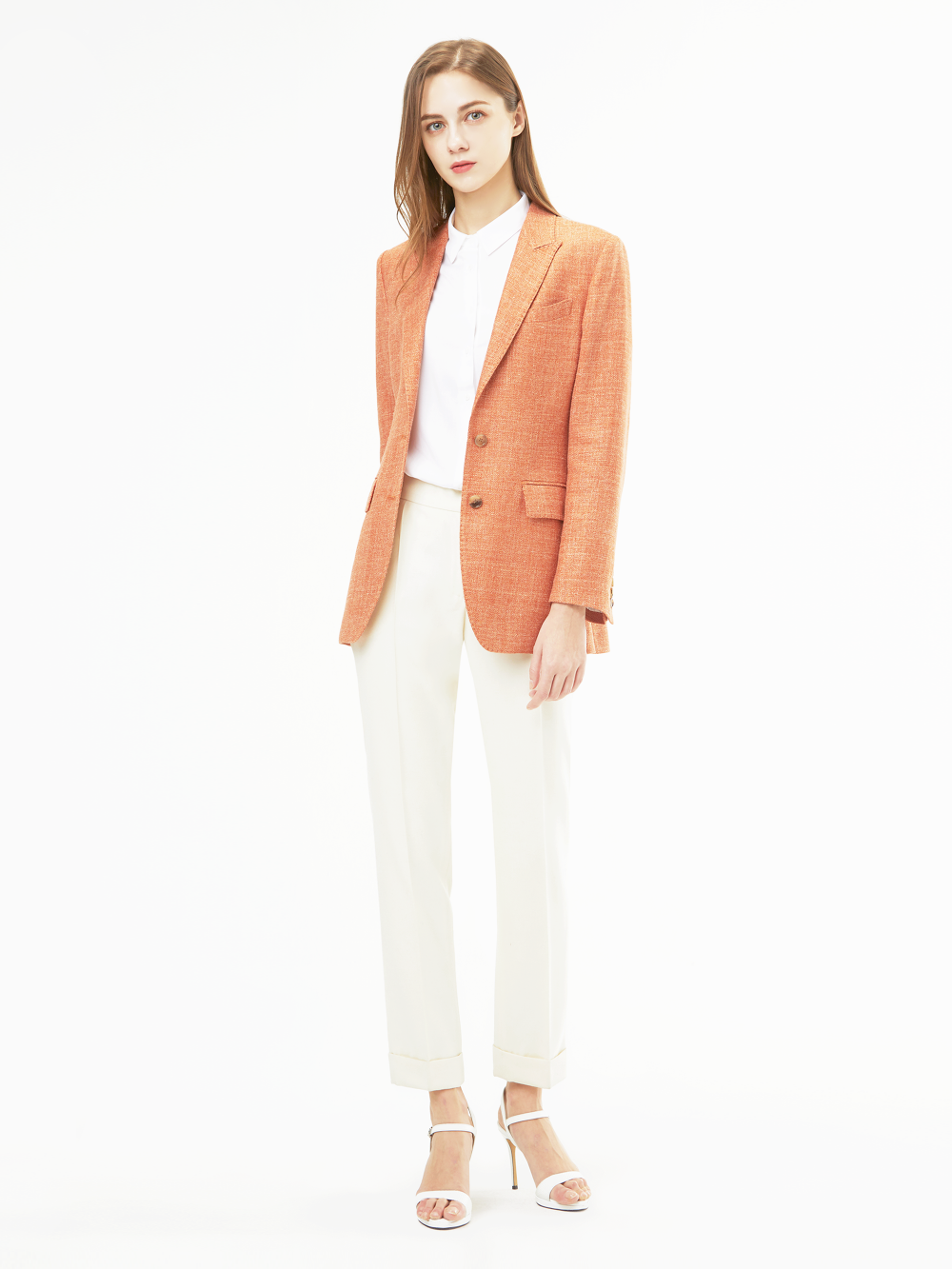 Holland&Sherry Linen Single Jacket
