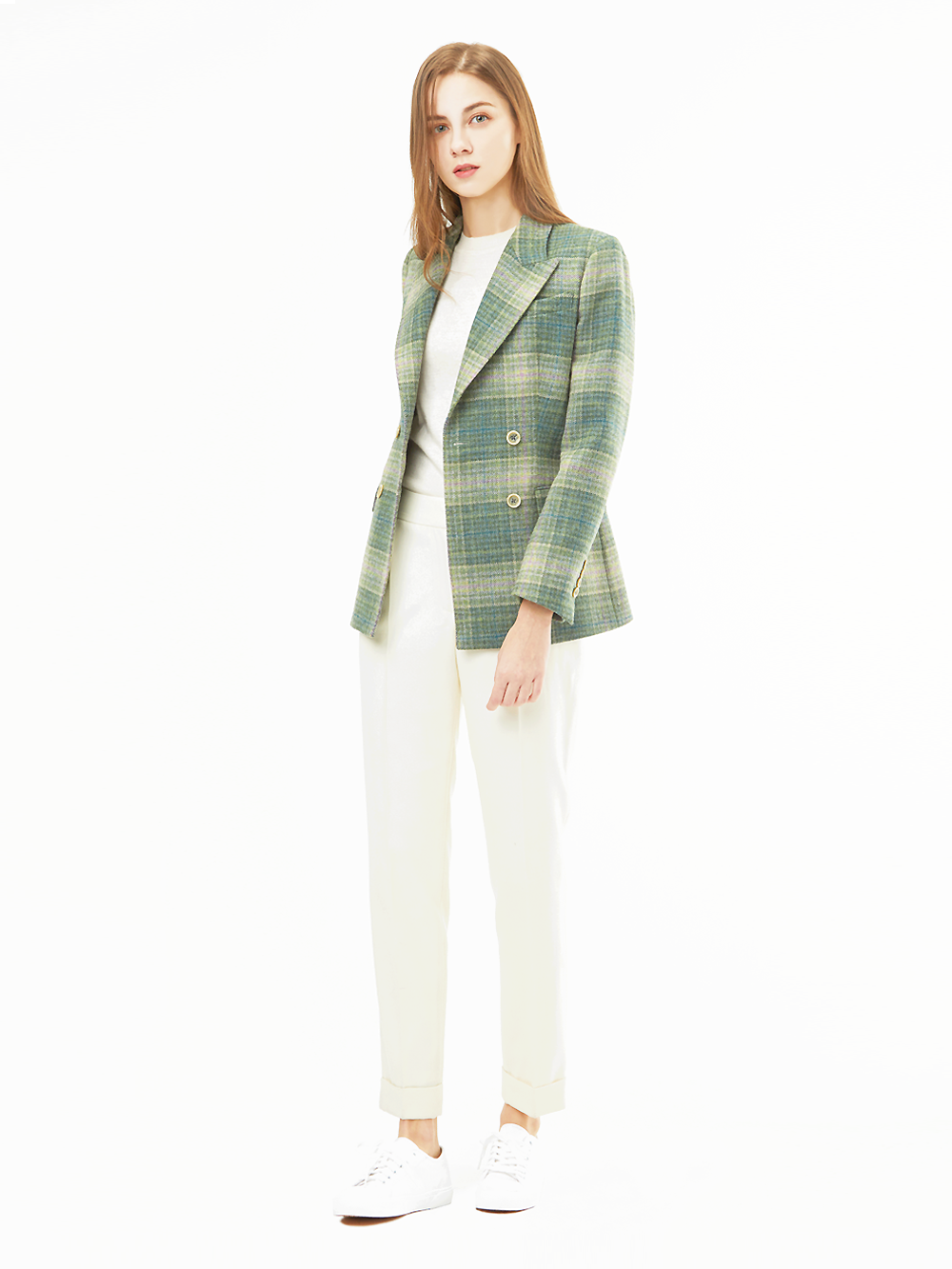 Marton Mills Check Tweed Jacket