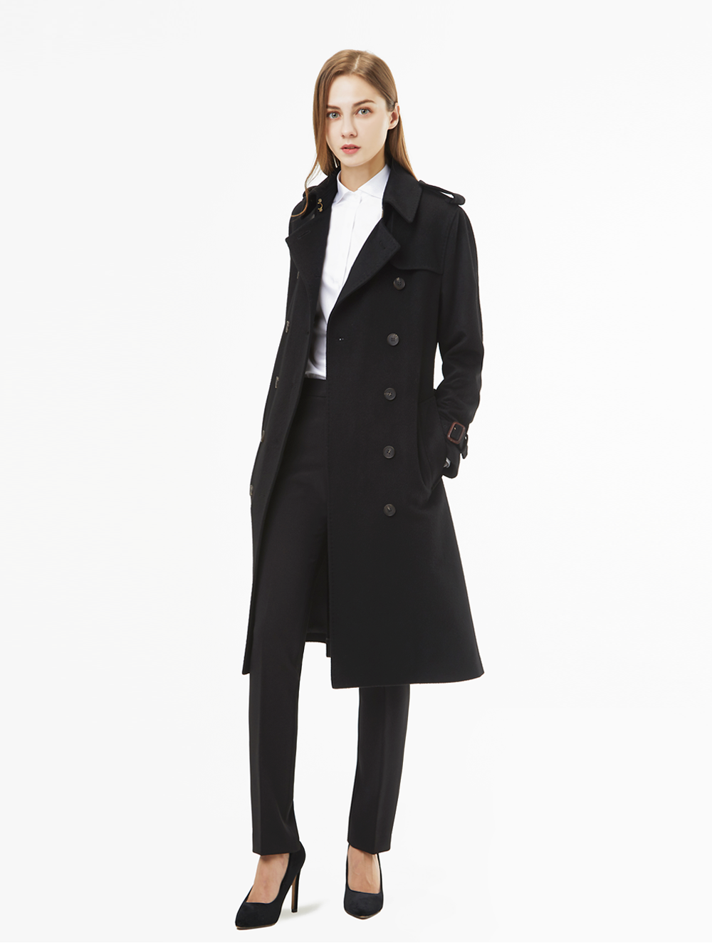 Trench Coat Black